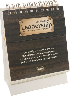 PaperPassion The Marks of leadership Perpetual Table Calendar