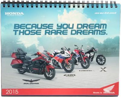 Honda 01 DCH 2015 Table Calendar