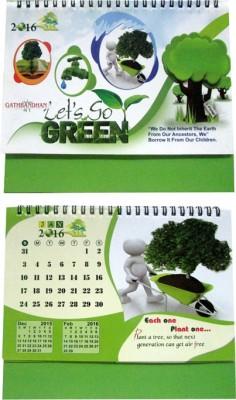 Gathbandhan GK241 2016 Table Calendar