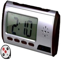 Autosity Detective Survilliance Clock Table Spy Camera Product Camcorder(Black)