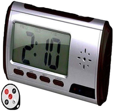 View Autosity Detective Survilliance Clock Table Spy Camera Product Camcorder(Black) Camera Price Online(Autosity)