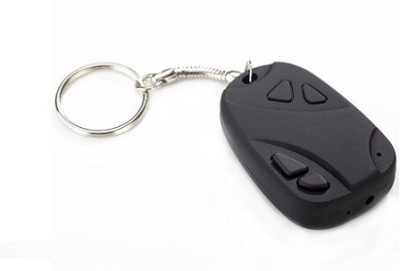 Autosity Detective Security 808-Key-Chain Key Chain Spy Product Camcorder(Black)