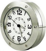 Autosity Detective Security Silver Ring Clock Spy Product Camcorder(Silver)