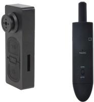 Autosity Detective Survilliance Button Camera and Pen Bat Spy Products Camcorder(Black)