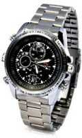 spydo Secrete Security Based SC-07 16gb sports watch Watch Spy Product Camcorder(Silver)