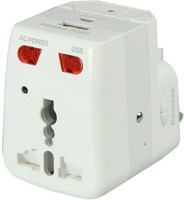 Autosity Detective Survilliance Electric Board Socket Spy Camera Product Camcorder(White)