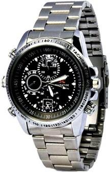 SPYCLOUD Secrete Detective Camera Silver HD Camera Watch Spy Product Camcorder(Black)