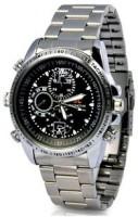 spydo Secrete Security Based Steel-Wrist-Watch Watch Spy Product Camcorder(Silver)