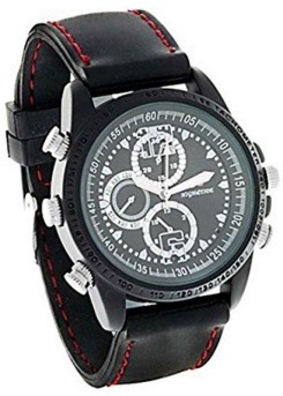 SPYCLOUD Secrete Detective Camera Based Black Leather Spy Watch Camcorder(Black)