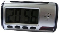 Autosity Detective Security Multifunction-table-clock Clock Spy Product Camcorder(Silver)