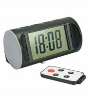 Autosity Detective Survilliance Digital Multi Function Clock Spy Camera Product Camcorder(Black)