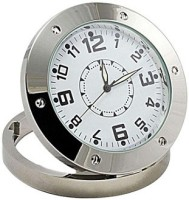 SPYCLOUD Secrete Detective Camera Based Silver HD Camera Clock Spy Product Camcorder(Silver)