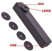 Autosity Detective Security DVR Video Hidden Camera-11 Button 4GB Spy Product Camcorder(Black)