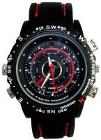 Autosity Detective Survilliance Stylish Wrist Watch Spy Camera Camcorder(Black)