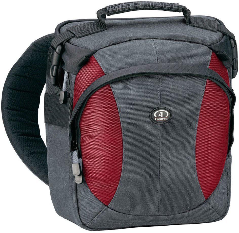TAMRAC Velocity 6Z Sling Pack  Camera Bag(Grey, Burgundy)