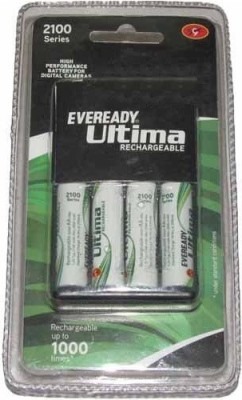 Eveready 2100 Series With 4AAx2100mAh Camera Battery Charger(Black)
