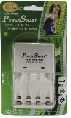 Power Smart 5 Hour Fast Cell Charger (for Ni-MH AA/AAA Rechargeable Batteries) Camera Battery Charger