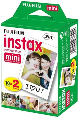 Fujifilm Instax Mini 20 Sheet Pack Film Roll