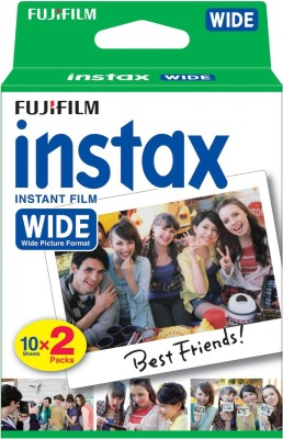 Fujifilm Instax Wide 20 Sheet Pack Film ...