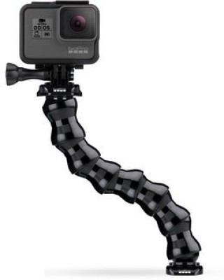 GoPro Bendable Neck Camera Mount(Black) at flipkart