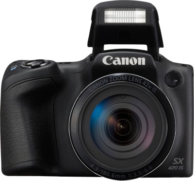 Canon SX420 IS Point & Shoot Camera(Black)