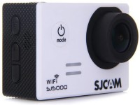 Sjcam 5000 Wifi _ 00001 Dive Mask Lens f  2.99mm     Camcorder Camera(White)