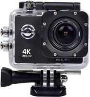 Feleez 4K Ultra HD 12 MP WiFi Waterproof Digital Action & Sports Body only Sports & Action Camera(Black)