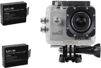 SJ Cam Sjcam4000Wifi_0006 Sjcamsj4000Wifisilver+2Battery Sports & Action Camera(Silver)