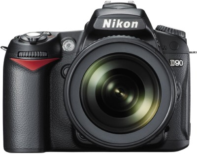 Nikon D90 (Body with AF-S 18-105 mm VR Lens) DSLR Camera(Black)
