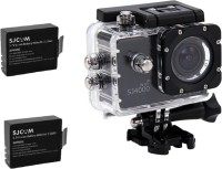 SJCAM Sjcam 4000 Sj _12 Sjcam 4000 Wifi black + 2Battery Sports & Action Camera(Black)