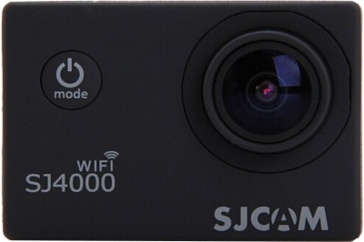 SJCAM 4000wifi_2 Sjcam sj4000 Wifi black +1Battery Sports & Action Camera(Black) at flipkart