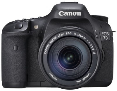 Canon EOS 7D (Body with EF-S 18-135 mm IS II Lens) DSLR Camera(Black)