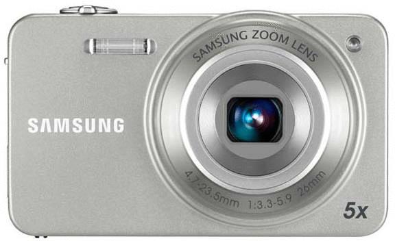 SAMSUNG ST90 Point & Shoot Camera(Silver)
