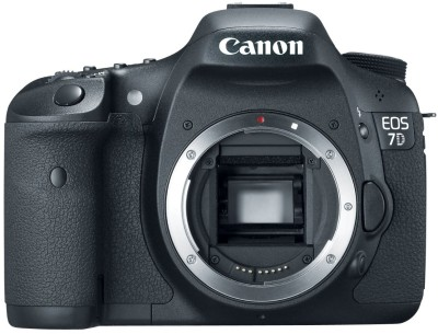 Canon EOS 7D (Body only) DSLR Camera(Black)