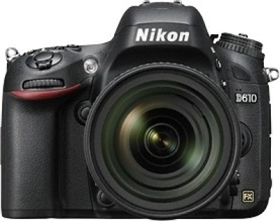 Nikon D610 DSLR Camera (Body only)(Black)