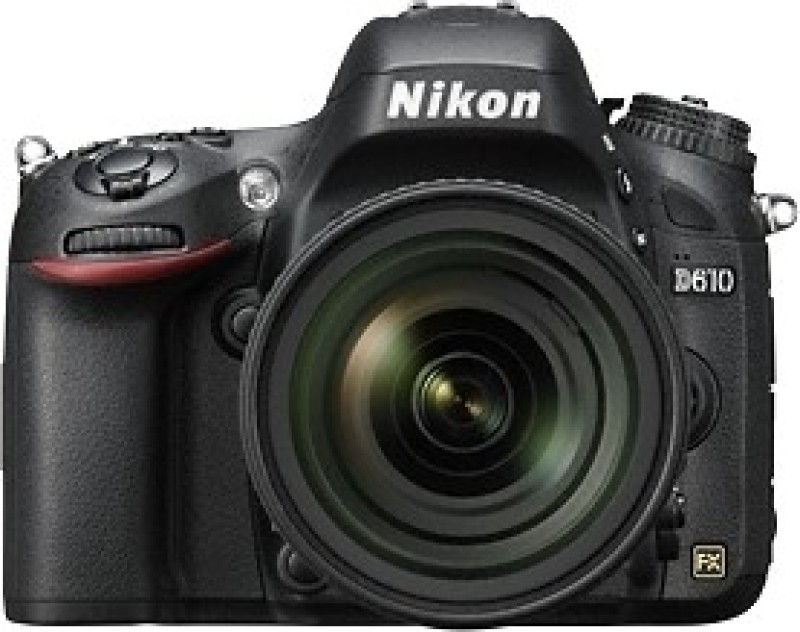 nikon d610 24.3 megapixels digital slr camera body with 24-85  ged vr lens new