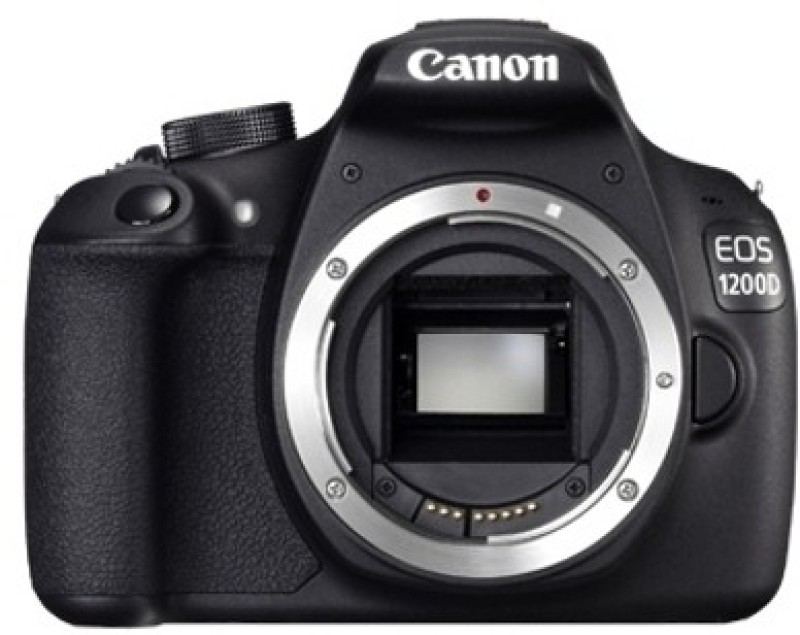 canon eos 1200d dslr camera black body only without lens,8gb,card carrying case