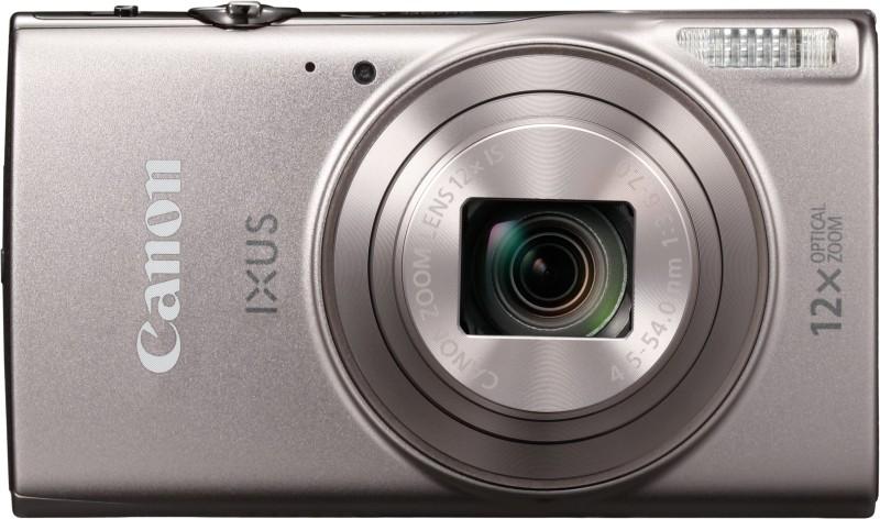 canon ixus 285 hs 20 megapixel digital camera -black + warranty + bill