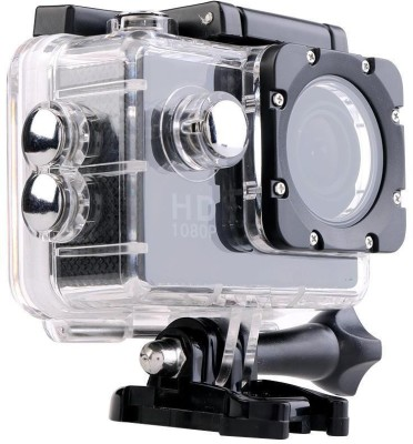 "Wonder World â""¢ Mini Ultra HD 1080P DV Sports Recorder Action Camcorder Waterproof Cam Holder Sports & Action Camera(Black)"