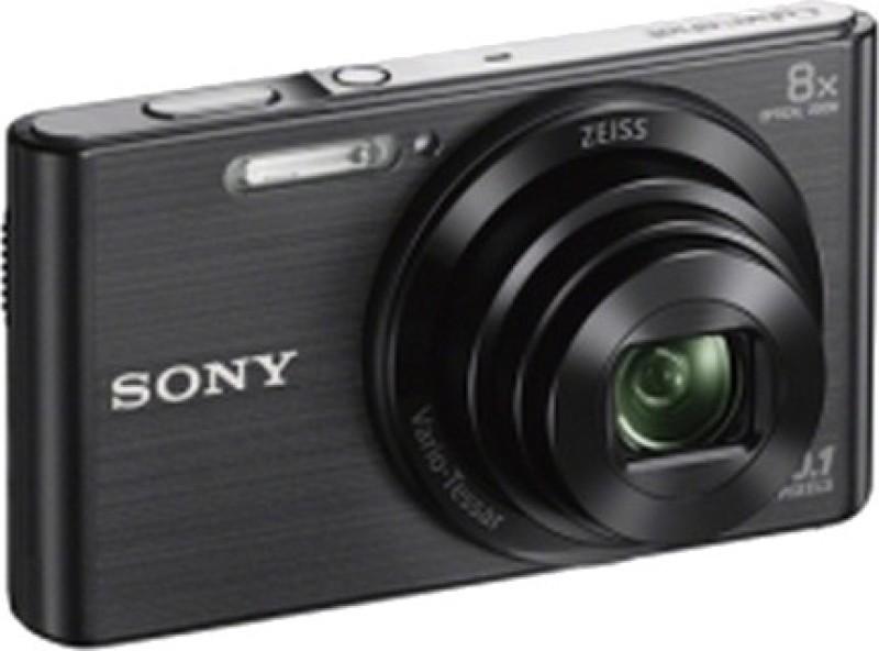 sony cybershot dsc-w830 20.1mp digital camera - black + vat paid invoice