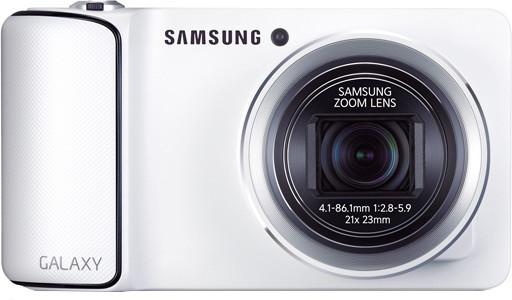 SAMSUNG GC100 Galaxy Point & Shoot Camera(White)