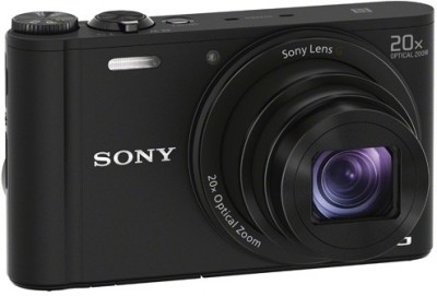 Sony DSC-WX350 Point & Shoot Camera(Black)