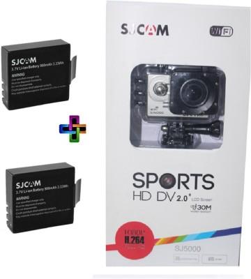 Sjcam Sj Sjcam Sj 5000 Wifi Silver _3 Sjcam 5000 Wifi 0003 Sports & Action Camera