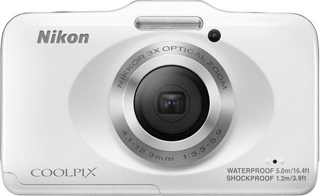 Nikon S31 Waterproof Point & Shoot Camera(White)