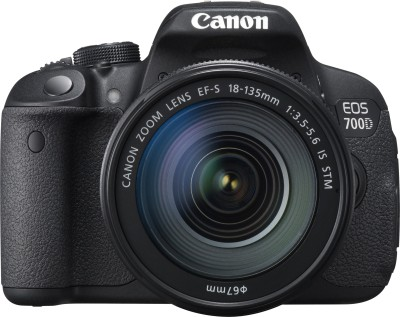 Canon EOS 700D (Body with 18-135 mm Lens) DSLR Camera(Black)