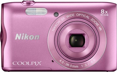 Nikon Coolpix A300 Point & Shoot Camera(Pink)