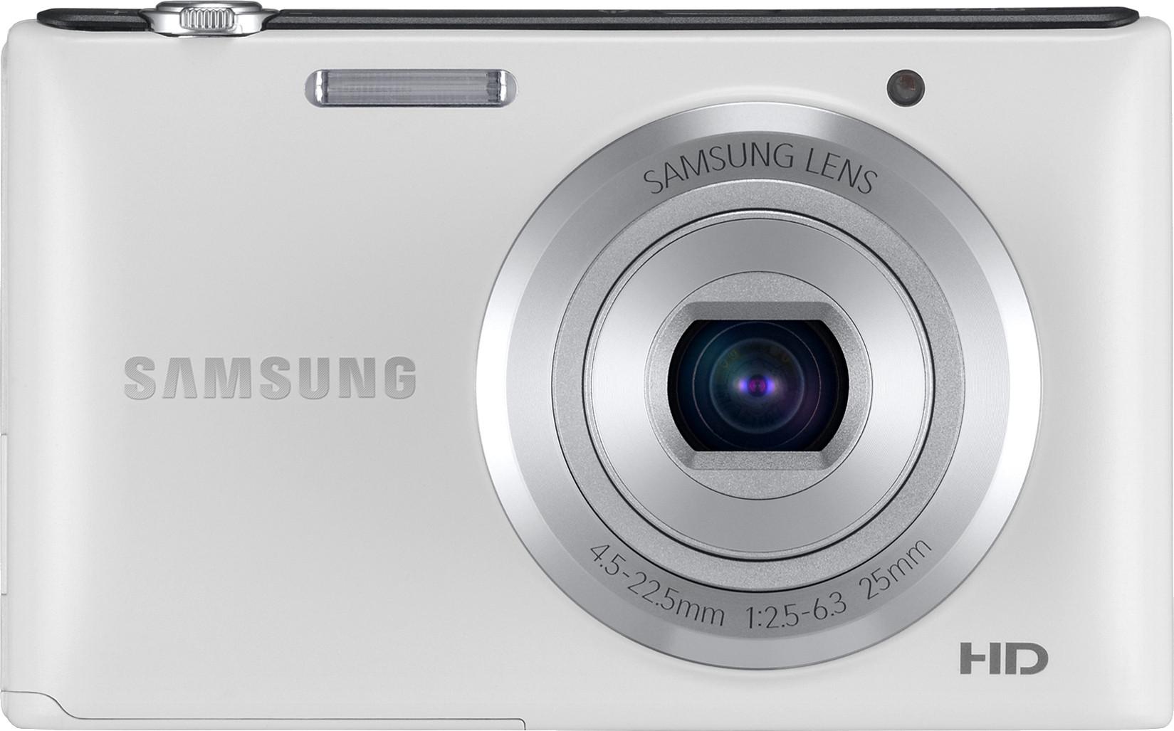 SAMSUNG ST72 Point & Shoot Camera(White)