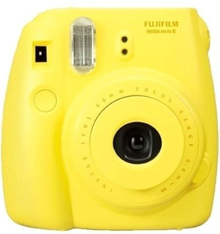 Fujifilm Instax Mini 8 Instant Camera(Yellow)