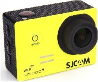 SJCAM SJ5000 WIFI PLUS Lens f  2.99mm  F  2.8 170   Sports & Action Camera(Yellow)