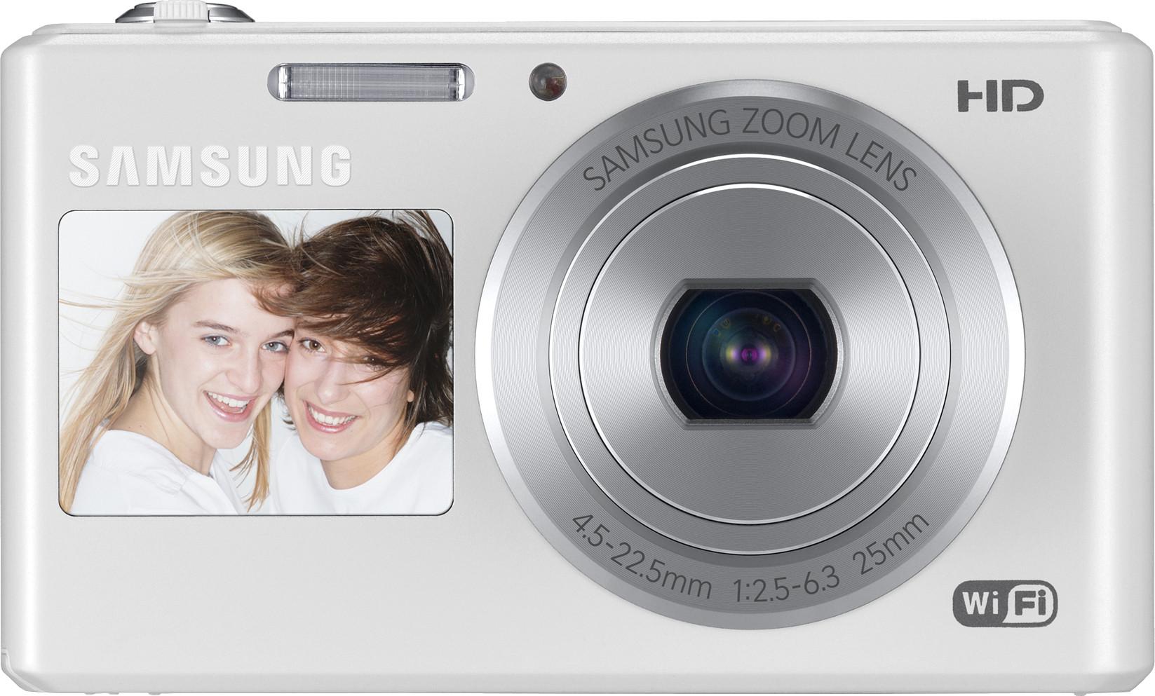 SAMSUNG DV150F Point & Shoot Camera(White)